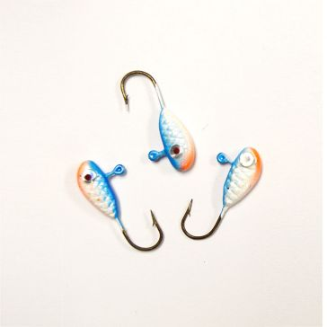 Erie Dearie 6 Pack Game Fish Jigs 1/32 Oz