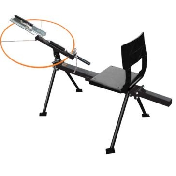 Do-All Sit Down Single Full-Cock Trap Thrower ST200