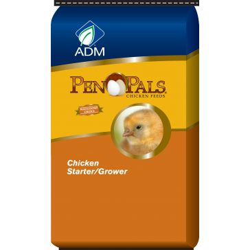 ADM Pen Pals Starter Grower Chicken Feed 50lb