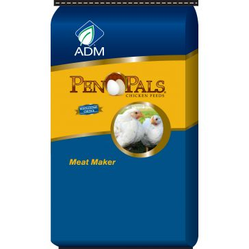 ADM Pen Pals Meat Maker Chicken Feed 5lb