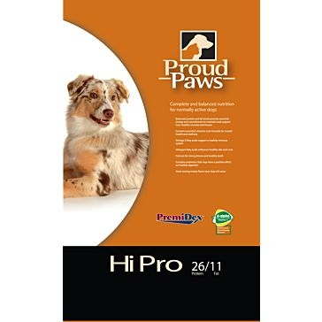 Proud Paws Hi Pro 26/11 Dry Dog Food 40lb