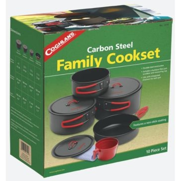 Coghlans Carbon Steel Family Cookset 1314