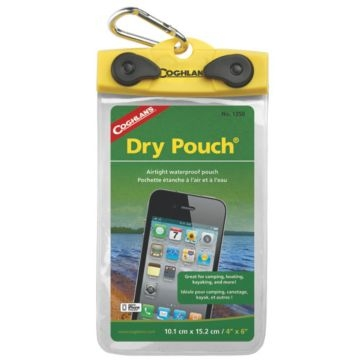 Coghlans Load 'N Lock Dry Pouch 4x6in 1350