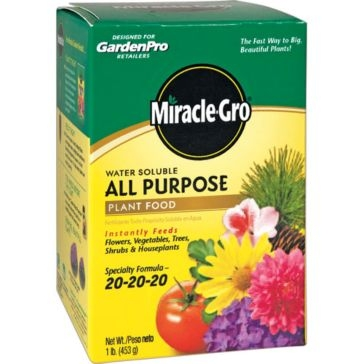 Miracle-Gro Water Soluble All Purpose Plant Food 1lb