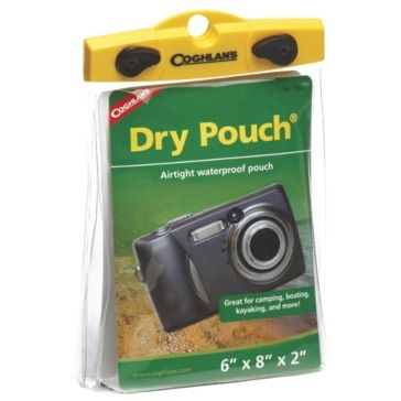 Coghlans Load 'N Lock Dry Pouch 5.5x8x2in 1352
