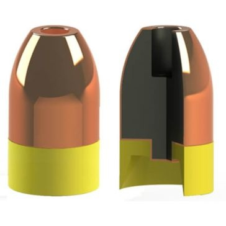 Powerbelt Copper .45 Caliber 225 GR HP Bullets
