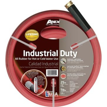 Apex Reinforced Rubber Hot Water Hose 25 ft 8695-25