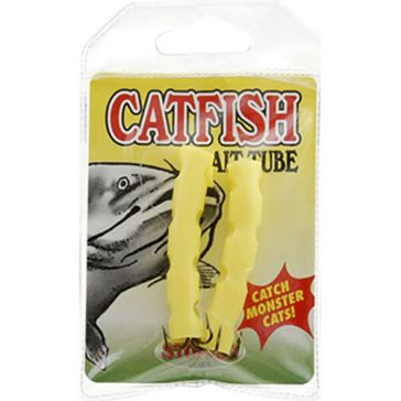 K & E Catfish Tube Chartreuse 2PK