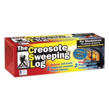 CSL Creosote Sweeping Log - 3.1 lbs