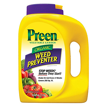 Preen 24-63774 5 Lb Vegetable Garden Weed Preventer