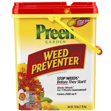 Preen Garden Weed Preventer - 16 lb. pail Covers 2560 sq. ft.