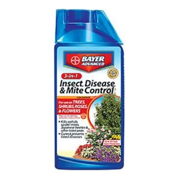 Bayer 3-In-1 Disease & Mite Control Concentrate 32oz