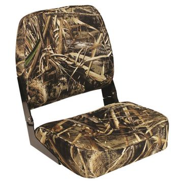 Wise Max 5 Camo Low Back Boat Seat