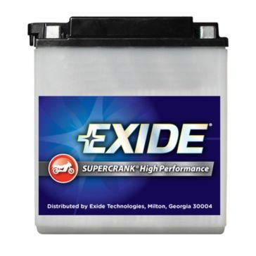 Exide Supercrank High Performance Motorcycle Battery 14A-A2