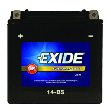 Exide Supercrank Select ATV Battery 14-BS