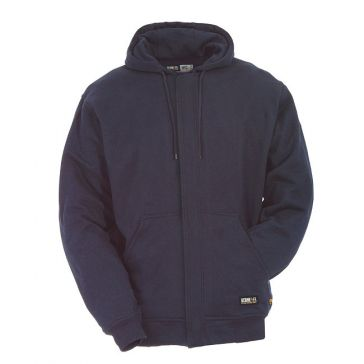 Berne Mens Flame Resistant Unlined Hooded Sweatshirt