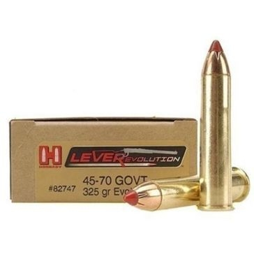 Hornady LEVERevolution 45-70 Government 325 GR FTX 20RD