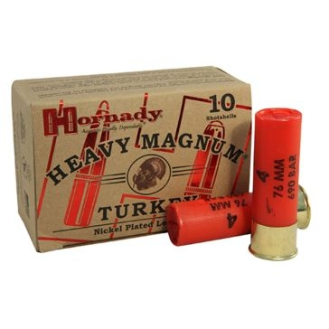 "Hornady Heavy Magnum Turkey 12ga 3"" #4"