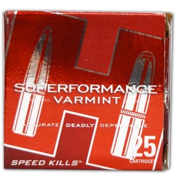 Hornady Superformance Varmint 17 Hornet 20 GR V-Max 25RD