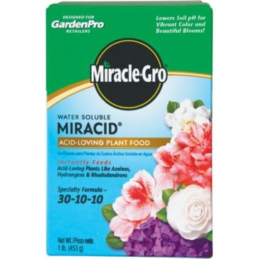 Miracle-Gro Water Soluble Miracid Plant Food 1lb