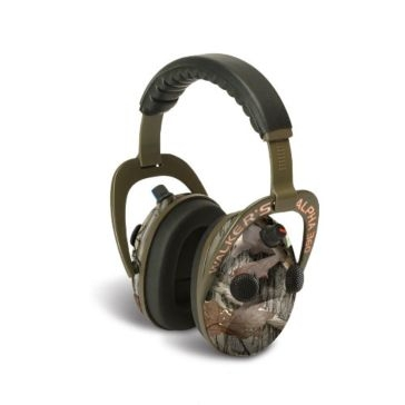 Walkers Game Ear Electronic Alpha Muffs 360 Camo
