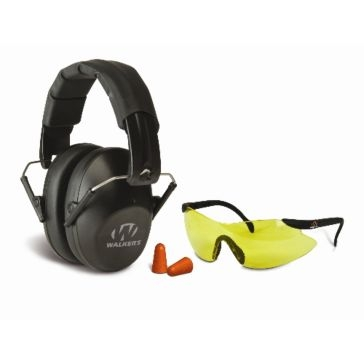 Walkers Game Ear Pro Safety Combo Kit