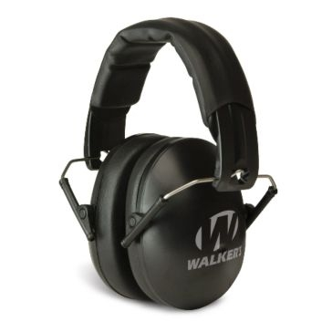 Walkers Game Ear Youth & Women Black Folding Muff