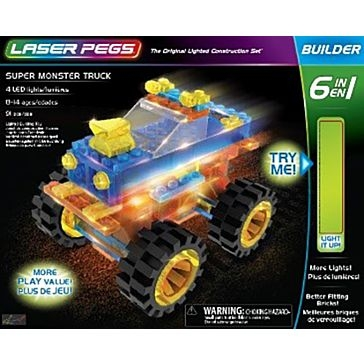 Laser Pegs Super Monster Truck Kit