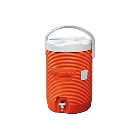 Rubbermaid 3 Gallon Water Cooler Orange