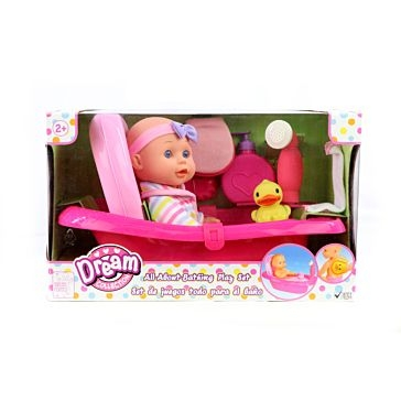 "Gi-Go Toys 12"" Bath Time Baby"