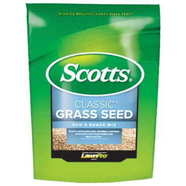 Scotts Classic Sun & Shade Grass Seed 3lb