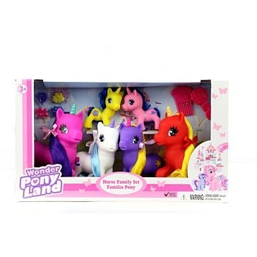 Gi-Go Toys Unicorn Family Set