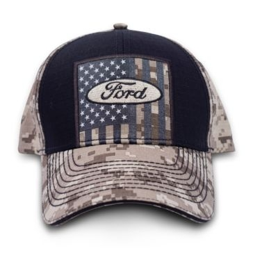 Buck Wear Ford USA Tan Digital Camo Hat