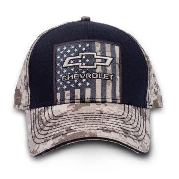 Buck Wear Chevy - USA Tan Digital Camo Hat