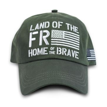 Buck Wear Freedom Flag Hat
