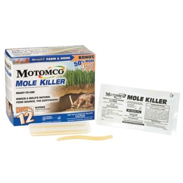 Motomco 12-pack Mole Killer Worms