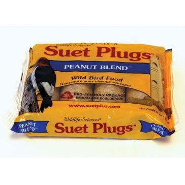 St. Albans Bay Suet Plugs 4 Pack Peanut Blend