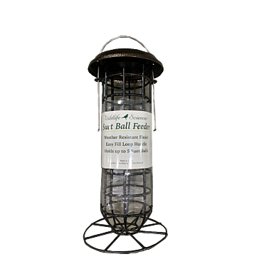 Suet Ball Feeder with Roof