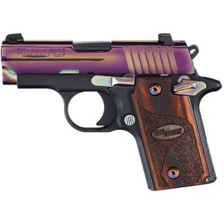 "Sig Sauer P238 .380ACP 2.7"" Rainbow Handgun"