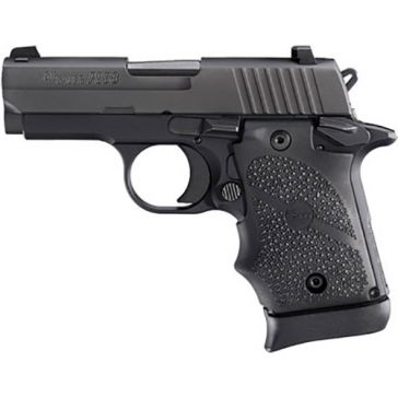 "Sig Sauer P938 9mm 3.0"" Black Rubber Grip Handgun"