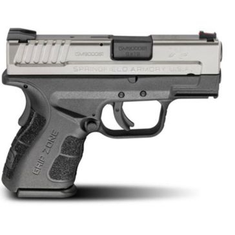 "Springfield Armory 9mm XD MOD.2 Bi-Tone Sub-Compact Model Pistol 3"""