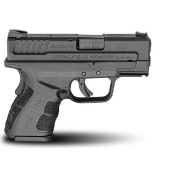 Springfield Armory .40SW XD MOD.2 Black Sub-Compact Model Pistol 3""