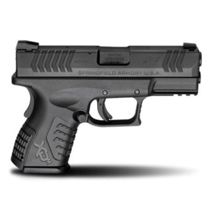 "Springfield Armory XD(M) 9mm 3.8"" Black Compact Handgun"