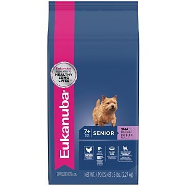 Eukanuba Senior Small Breed Dry Dog Food 5lb.