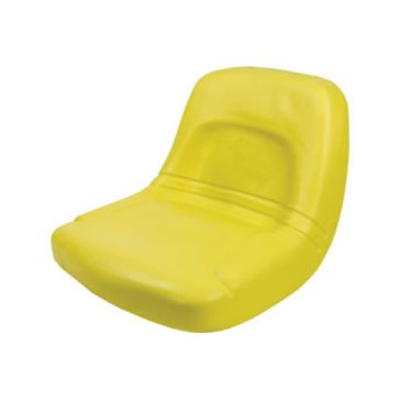 Concentric High Back Tractor Seat Yellow