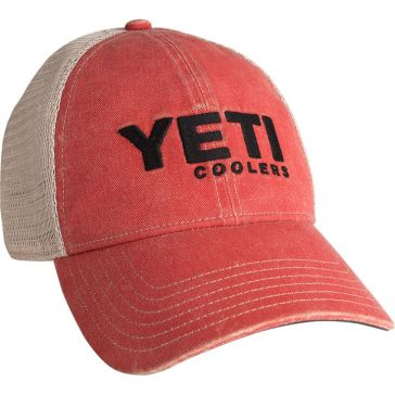 YETI Wahsed Low-Pro Trucker Hat