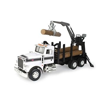 Tomy Big Farm Peterbilt Log Truck 1:16