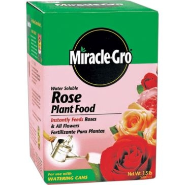 Miracle-Gro Water Soluble Rose Plant Food 1.5lb