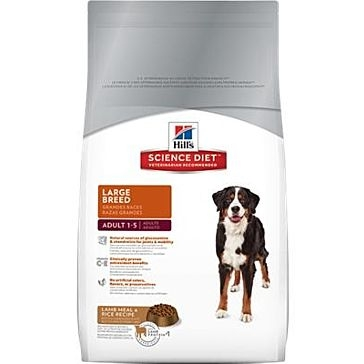 Hill's Science Diet Large Breed Lamb & Rice 33lb