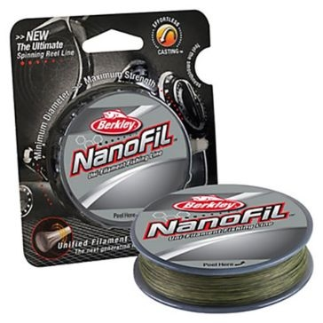 Berkley NanoFil 6lb 150yd Low-Vis Green Fishing Line